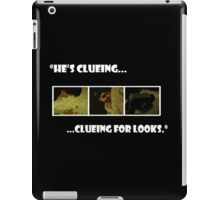 Clueing for looks - Sherlock iPad Case/Skin