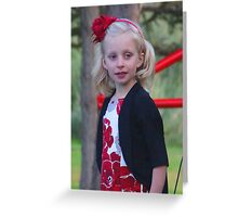 """""""Young Beauty"""" by Carter L. Shepard Greeting Card"""