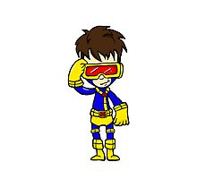 CYCLOPS XMEN Photographic Print