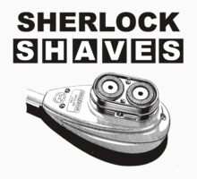 Sherlock Shaves by Robin Brown