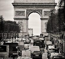 Arc de Triomphe by Country  Pursuits