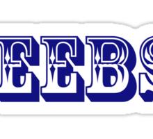 """Ceebs."" branded clothing Sticker"