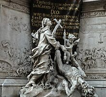 Vienna Austria, Plague Monument by GregorDyer