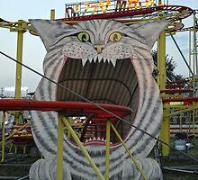 Praterstern Park, Vienna Austria, Cheshire Cat by Gregory Dyer