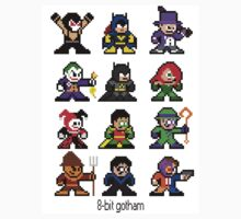8-bit Gotham Sticker by groundhog7s