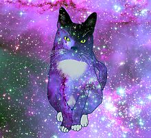 spaced out cat case by Icecreammouth
