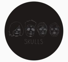 Skulls (no hair detail) by wellsi