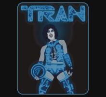 TRAN 2.0 black background variant by Jason Wright