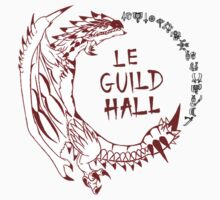 Monster Hunter Le Guild Hall-Rathalos Version 1 Uncolored by S4LeagueProps