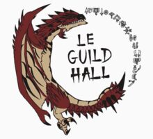 Monster Hunter Le Guild Hall-Rathalos Version 2 Base Colors Kids Clothes