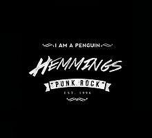 Luke Hemmings White Logo by stylinson