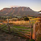 Mt Roland at Sunrise by Steven Johnson