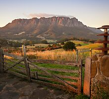 Mt Roland at Sunrise by Steven Johnson