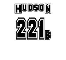 Hudson 221b - Sports Jersey - SHERLOCK Photographic Print