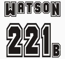 Watson 221b - Sports Jersey - SHERLOCK Kids Clothes