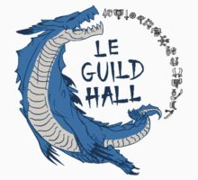 Monster Hunter Le Guild Hall-Lagiacrus Version 2 Base Colors by S4LeagueProps