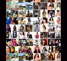 Lea Michele collage by iheartcory