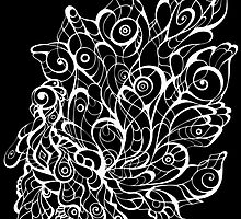 Peacock by Tatjana Blank