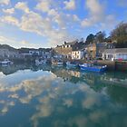 Cornwall: Padstow Harbour Reflections by Rob Parsons