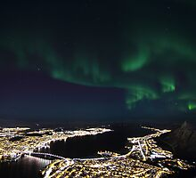 Tromsoe - City of Lights by striberny