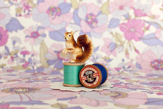 Crafty Squirrel  by Candypop