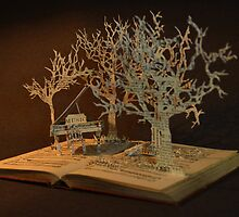 Paperback Sculpture- Music Woods 1 by Douglas Dodds