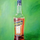 Aperol portrait by Carole Russell