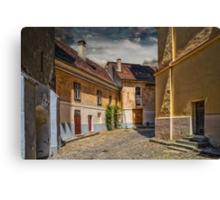 Old street Canvas Print