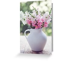 Snapdragon flowers Greeting Card