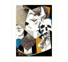 Sherlock - Impressions Art Print