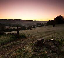 Stroud Sunrise by Anne Gilbert