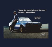 In Memory of Paul Walker by carsaddiction