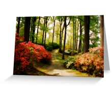 Dreamy Path Greeting Card