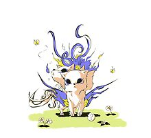 Little Cerberus! by clgtart