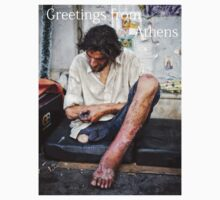 Greetings from Athens II by Elisabeth Verwaest