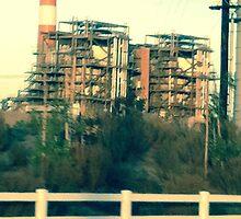 Oxnard Power Plant Entrance by mentha