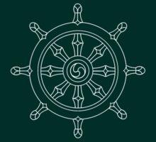 Dharma Chakra by Bundjum