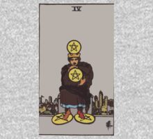 Tarot- Four of Pentacles by cadellin