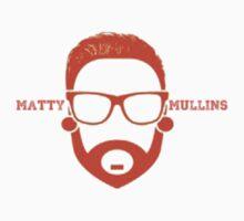 Matty Mullins Minamilist Logo by Stewart Leach