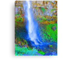 """Snake River Canyon Falls"" by Carter L. Shepard Canvas Print"