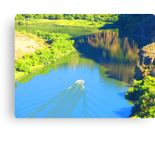 """Snake River Canyon"" by Carter L. Shepard Canvas Print"