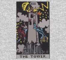 Tarot- The Tower by cadellin