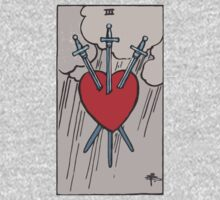 Tarot- Three of Swords by cadellin