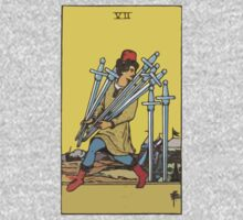 Tarot- Seven of Swords by cadellin