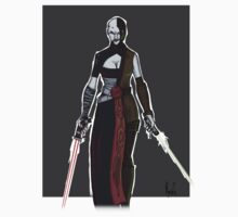 Asajj Ventress-Evolution by RabidDog008