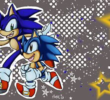 Sonic Generations by bluestarpost