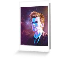 The Man Who Keeps Running (Print) Greeting Card