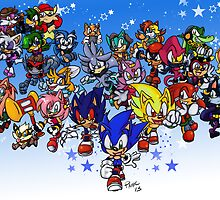 Sonic Eternal Wishes Poster by bluestarpost