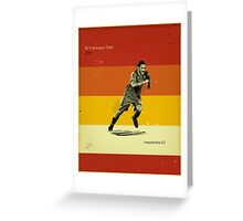 Totti Greeting Card