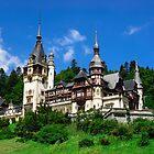 Peles castle by Dobromir Dobrinov